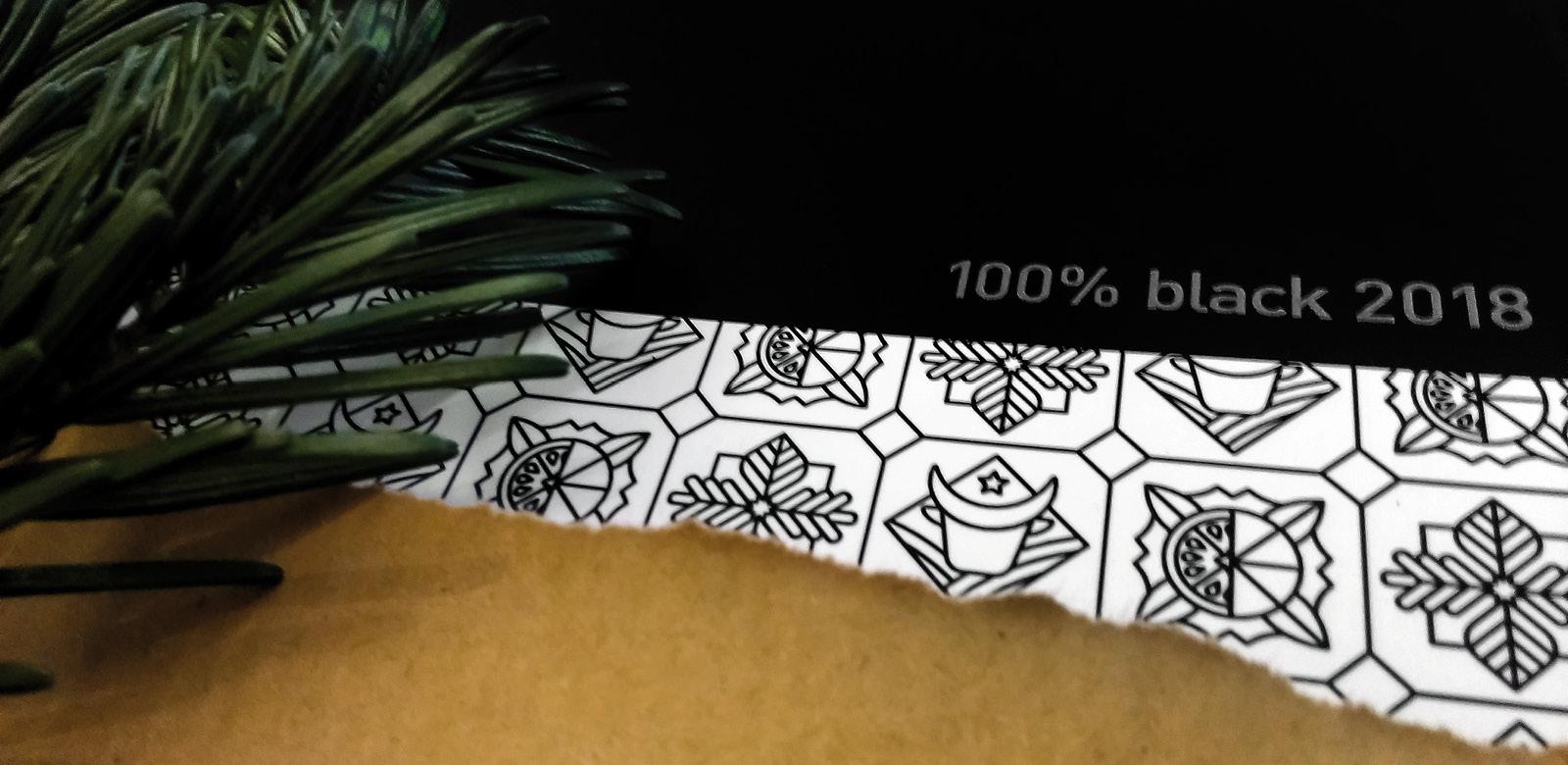 100% black 2018 Cover