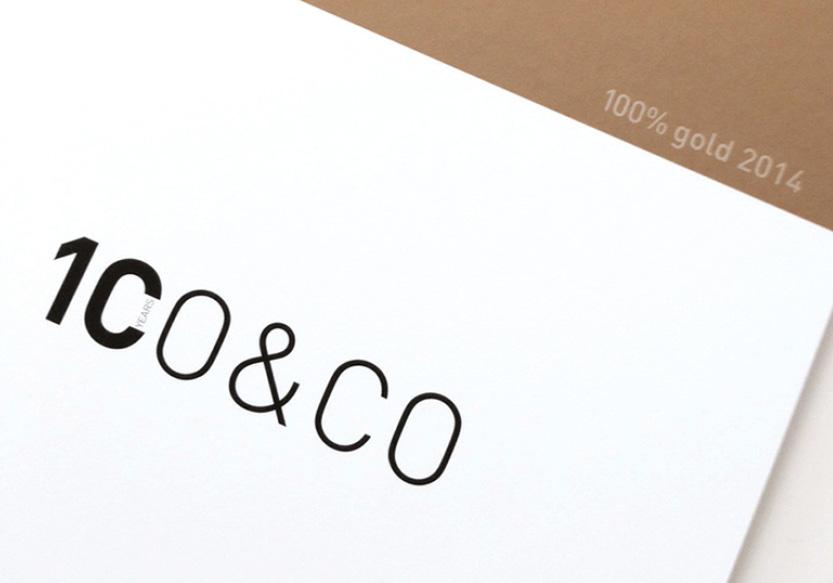 100 gold ist da co co corporate design magazin for Buero zwo design