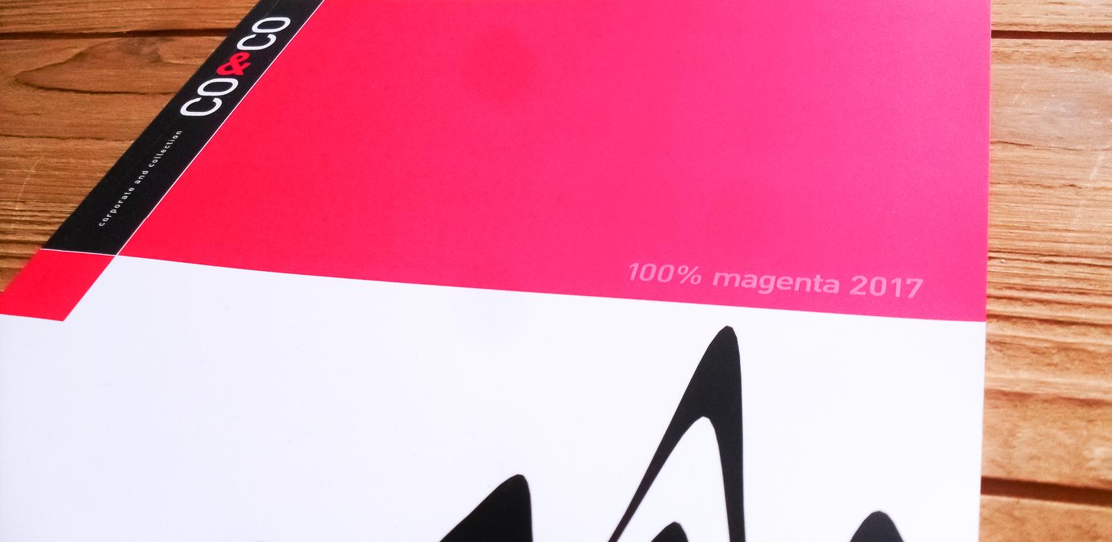 100% magenta 2017 Cover