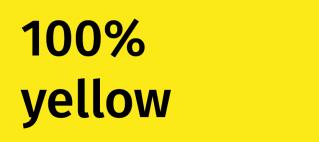 100% yellow kommt